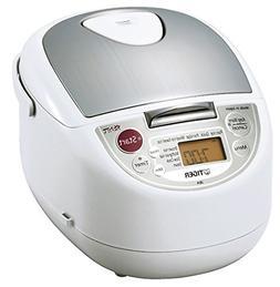 Tiger JBA-T18U-WU 10-Cup  Micom Rice Cooker with Food Steame