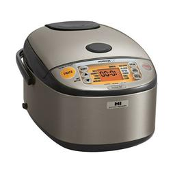 Zojirushi - 5.5-cup Rice Cooker - Stainless Dark Gray