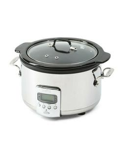 All-Clad 4 QT. Electric Slow Cooker With Ceramic Insert  SD7