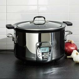 All-Clad 4 QT Electric Slow Cooker With Aluminum Insert