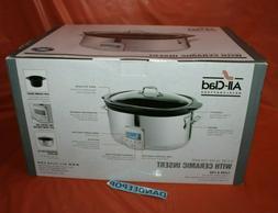 All-Clad 6.5 QT Slow Cooker & Black Ceramic Insert - SD70045