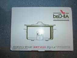 All-Clad 6.5 QT Slow Cooker & Black Ceramic Insert - 99009