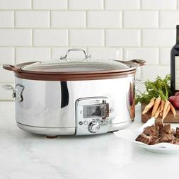 All-Clad 7Qt. Gourmet Slow Cooker with In pot Browning Funct
