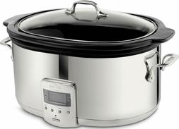 All-Clad SD700450 Programmable Oval-Shaped Slow Cooker 6.5-Q