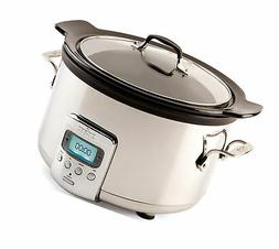 All-Clad SD710851 Slow Cooker With Black Ceramic Insert And