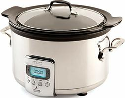 All Clad Slow Cooker 4qt Crock Pot Best Sellers Programmable