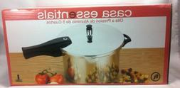 Casa Essentials Aluminum Pressure Cooker 5 Quart