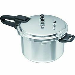 Aluminum Silver Stovetop Pressure Cooker 7.2 Quart Durable H