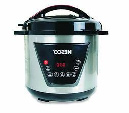 Nesco American Harvest Nesco PC8-25 Pressure Cooker, 8 quart