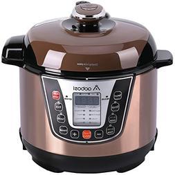 Aobosi Pressure Cooker 3Qt 8-in-1 Electric Multi-cooker, Ric