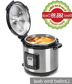 Aobosi Pressure Cooker 8QT 8-in-1 Electric Multi-cooker,Rice