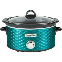 Brentwood Appliances 4.5-Quart Scallop Pattern Slow Cooker