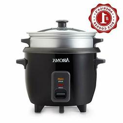 Aroma Housewares 2-6 cups Cooked Rice cooker, Steamer, Multi
