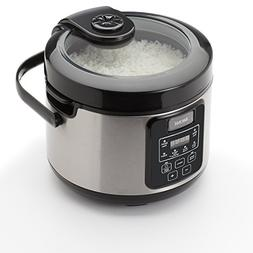 Aroma Professional 16 Cup Uncooked Rice Cooker, Silver