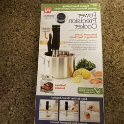 As Seen On TV Power Precision Cooker Sous Vide