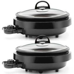 Aroma ASP 137B Grill Steamer Slow Cooker Heavy Duty Nonstick