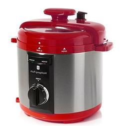 Wolfgang Puck Automatic 8-quart Rapid Pressure Cooker Red by