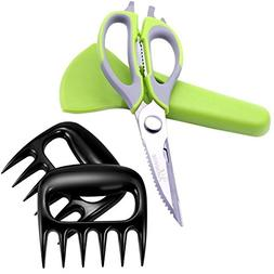 Bear Claws Meat Shredder and Kitchen Scissors, cut even Chic