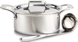 All-Clad BD553033 D5 Brushed 18/10 Stainless Steel 5-Ply Bon