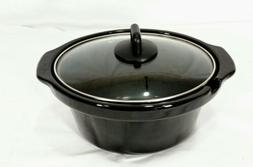 Sensio Bella Triple Slow Cooker Replacement Crock Pot w/Lid