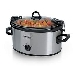 BEST Cook & Carry 6 Quart Oval Portable Manual Slow Cooker S