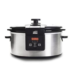 Best Programmable Slow Cooker Platinum 6 Quart Stainless Ste