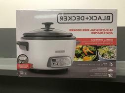 Black and Decker 14-Cup Digital Rice Cooker and Steamer RCD5