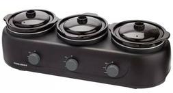 😍BRAND NEW SEALED BOX😍 Black & Decker 3 Pot - Crock Po