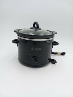 BLACK Crock Pot Classic 2 Quart Manual Control Settings NEW