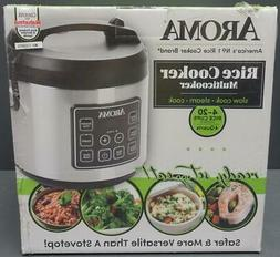 BRAND NEW Aroma Housewares 20 Cup Cooked 10 cup uncooked Dig