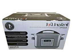 BRAND NEW Instant Pot Aura Pro 8 Qt 11-in-1 Multicooker -Slo