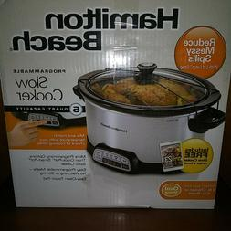 BRAND NEW IN BOX HAMILTON BEACH 5 QUART SLOW COOKER  PROGRAM