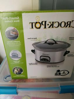 Brand New In Box - Crock-pot 6 QT Smart-Pot Programmable Slo