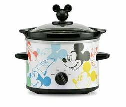BRAND NEW!!! Mickey Mouse 2 Qt Slow Cooker/ Crock Pot !!!
