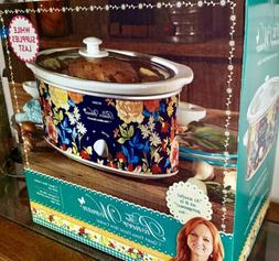 BRAND NEW Pioneer Woman 5 Quart Slow Cooker Fiona Flora By H