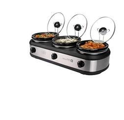Tru / Select Brands BS-75SK Slo 3 2.5qt Crock Buffet Slow Co