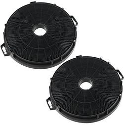 Spares2go Charcoal Carbon Grease Filters For Philips Whirlpo