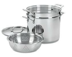 Cuisinart Chef's Classic Stainless 12Qt. Pasta Steamer Set/4