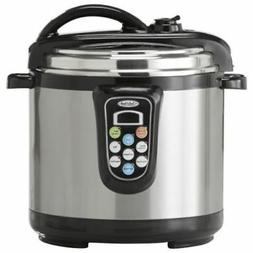 Chef's Mark 5-Qt. Electric Pressure Cooker With Slow Cook Fu