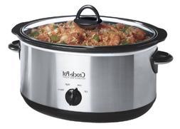 Crock Pot Crockpot SCV655-IUK 220V  Slow Cooker, 6.5ltr, Bru