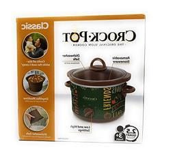 classic crock pot slow cooker