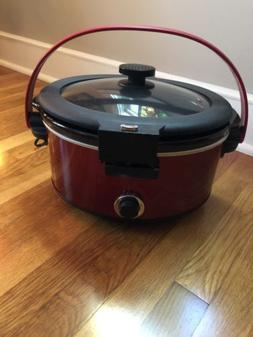 Chefman Cook & Carry 5 Quart Slow Cooker