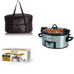 Cook & Carry: Crock-Pot SCCPVL610-S 6-Quart Programmable Coo