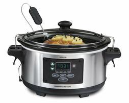 Cooker Pot Slow Travel Kitchen Crock Dining Home Roast Meat