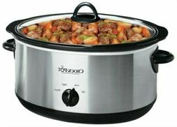 Sunbeam Rival Cooker Slow Manual Oval 7Qt Ss SCV700-SS