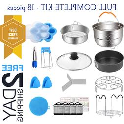 Cookers Accessories Set Instant Pot 8 Qt Steamer Baskets Div
