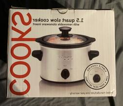 Cooks 1.5 Quart Slow Cooker New in Box Never Opened