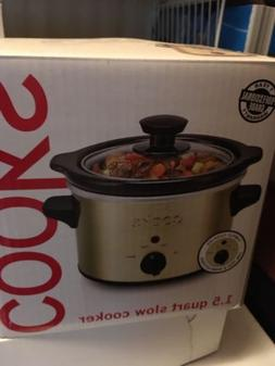 Cooks Slow Cooker, Gold,NEW IN BOX!!