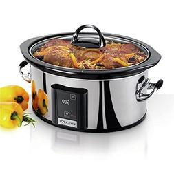 Crock-pot Countdown Touchscreen Digital 6.5 Qt. Slow Cooker
