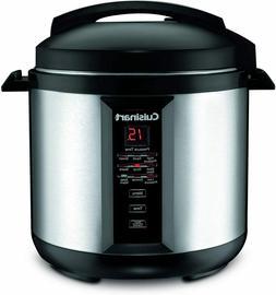 Cuisinart CPC-800 8-Quart Pressure Cooker Silver